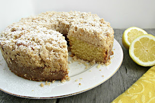 Lemon Coffee Crumb Cake