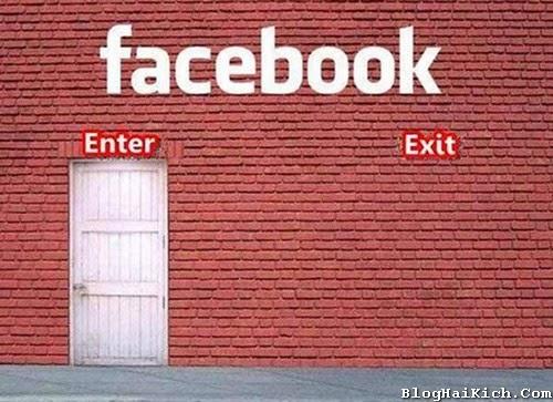 Vào Facebook là không ra được.