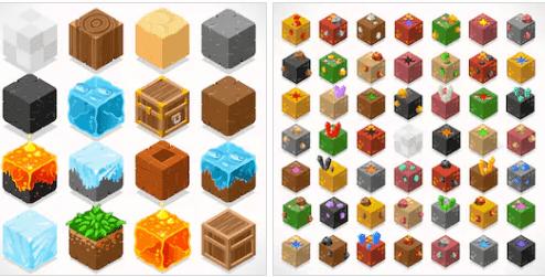 اداوت في لعبه ماين كرافت مهكرة اخر اصدار للاندرويد Minecraft apk