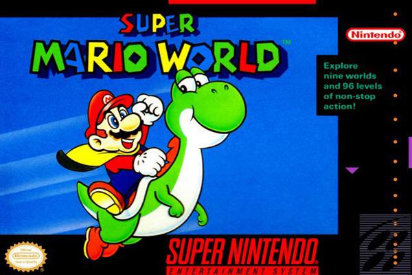 Super Mario World 1990