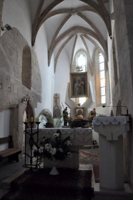 Romański kościół w Zagości, fundacji krzyżowca Henryka Sandomierskiego