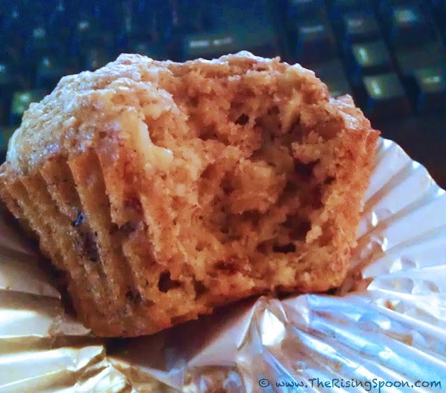The Rising Spoon Blog: Banana Walnut Dark Chocolate Chip Muffins