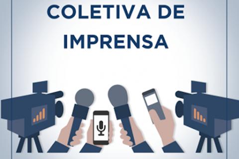 3ª história: coletiva de imprensa de Manno Góes