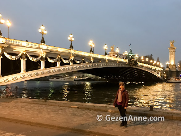 Paris köprüleri çok güzel