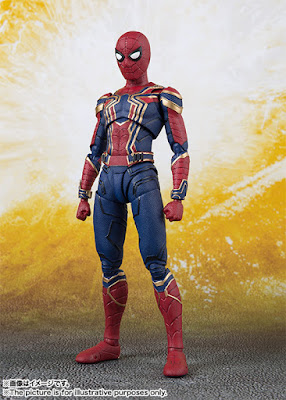 "S.H.Figuarts Iron Spider de ""Avengers: Infinity War"" - Tamashii Nations"