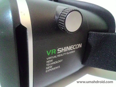 Review Tombol Jarak Object VR Shinecon