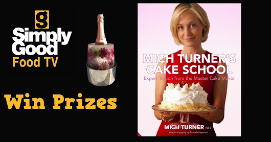 Win a signed copy of Mich Turner's Cake School Book