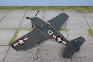 F6F-3 Hellcat d'Hasegawa au 1/48.