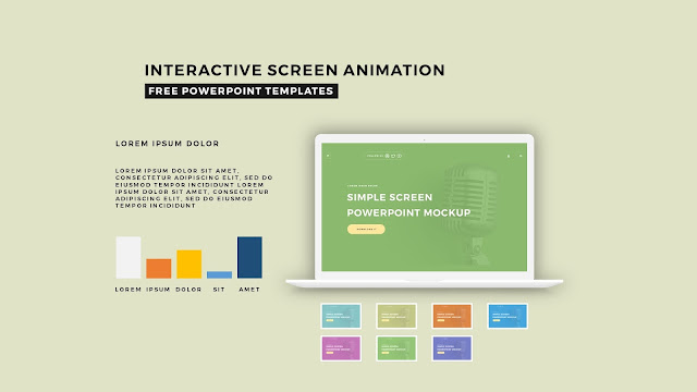 Interactive Screen Animation PowerPoint Template Slide 6