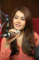 Raashi Khanna Sizzling Photos at Red FM HeyAndhra.com