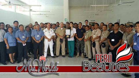 Mrs World 2016 | Marina de Guerra del Perú entrega placa