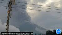 Gunung Agung Kembali Meletus, Semburkan Abu Setinggi 1.500 Meter