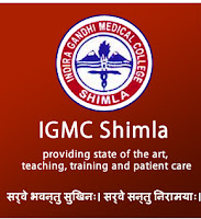 IGMC Shimla Recruitment 2016