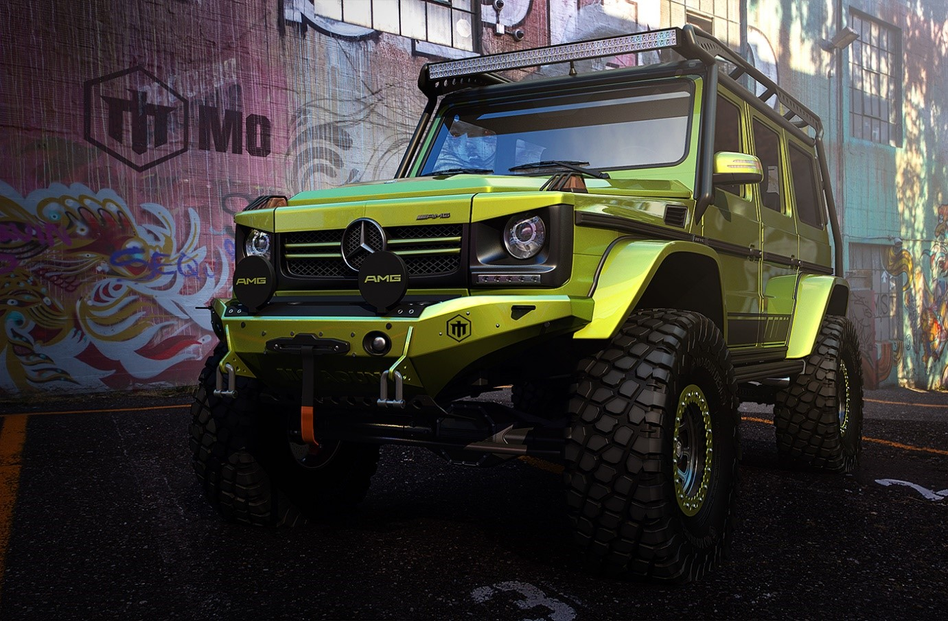 Mercedes G-Class Custom - MS+ BLOG