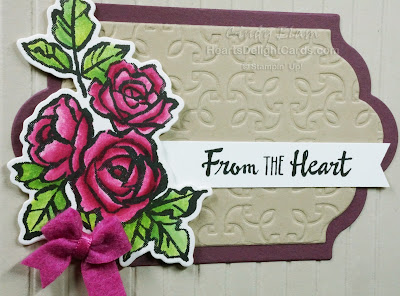 Petal Palette, From the Heart, Occasions 2018, Stampin' Up!, Organizing,