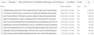 Windows 10 Lock Screen/Spotlight Images