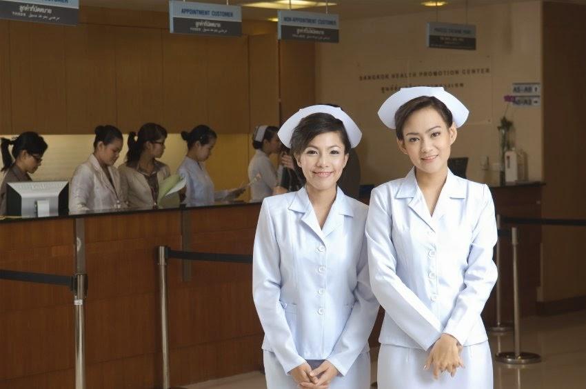 Krankenschwestern Thailand Krankenhaus