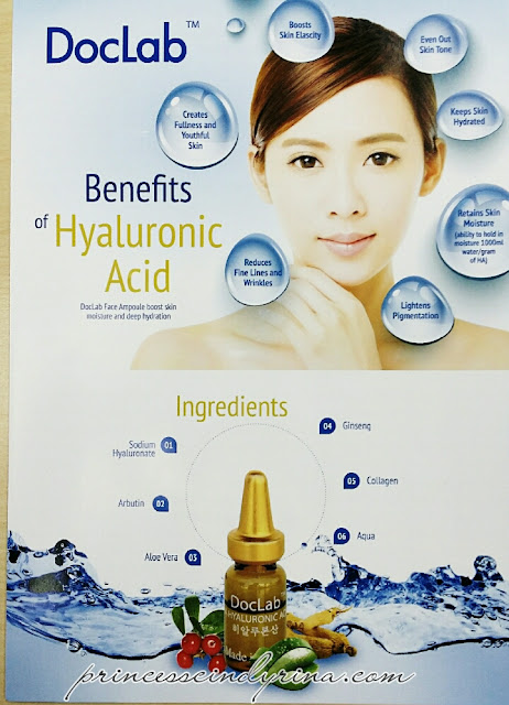 poster on benefits of hyaluronic acid