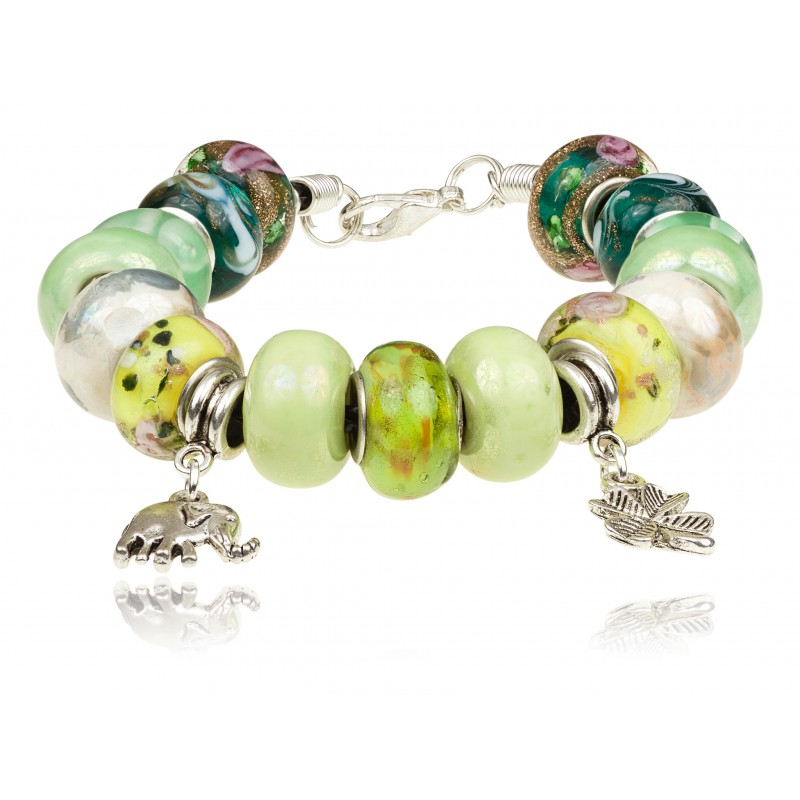 TopArt Jewelry bransoletka modułowa słonik, polska biżuteria, biżuteria handmade, blog biżuteryjny