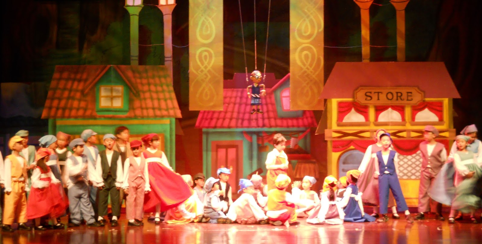 Pinocchio, The Live Marionette Musical is All Set to Open on