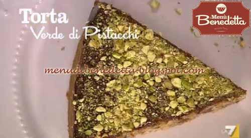 Torta Verde Di Pistacchi Ricetta Parodi Da I Menù Di Benedetta