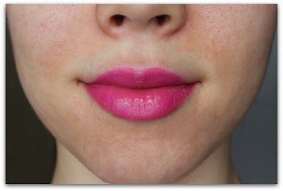 "Urban Decay Sheer Lipstick Swatch in ""Anarchy"""