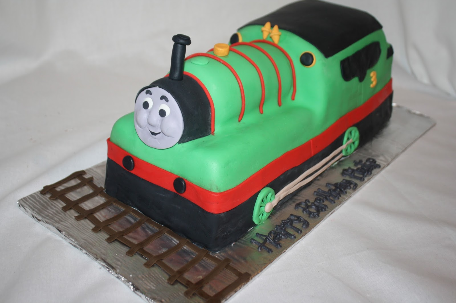Hock Cakes Llc Percy The Train Cake