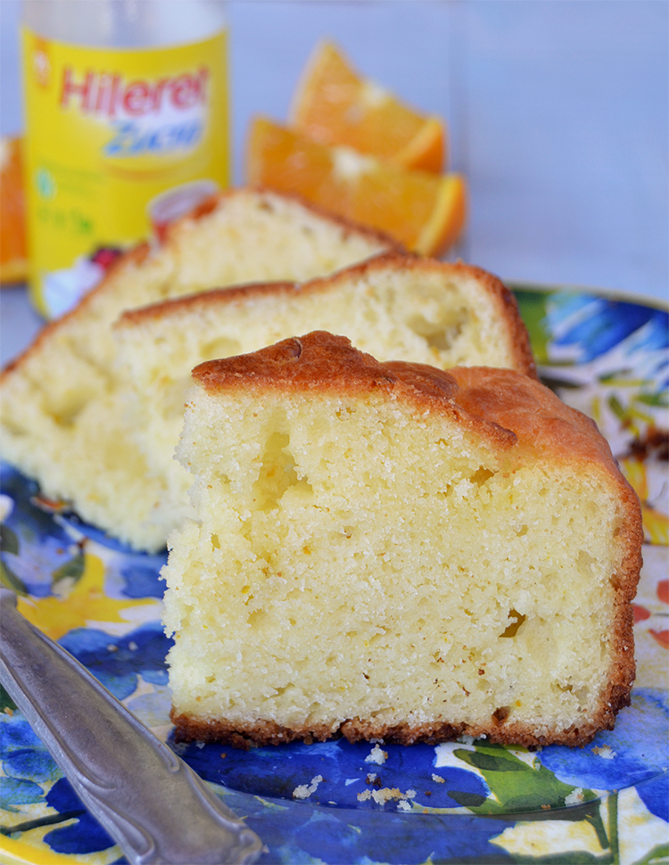Torta de naranja sin azúcar