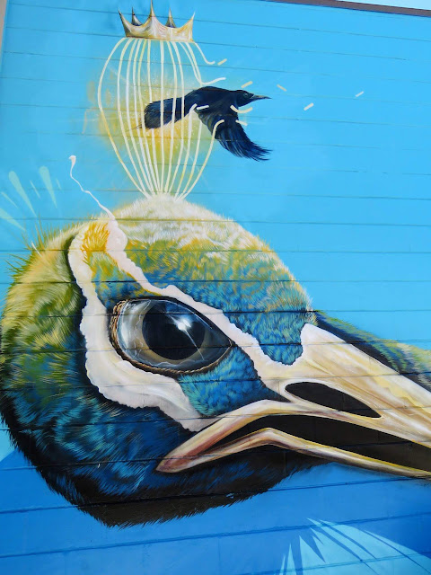 Street art in St. Petersburg, Florida