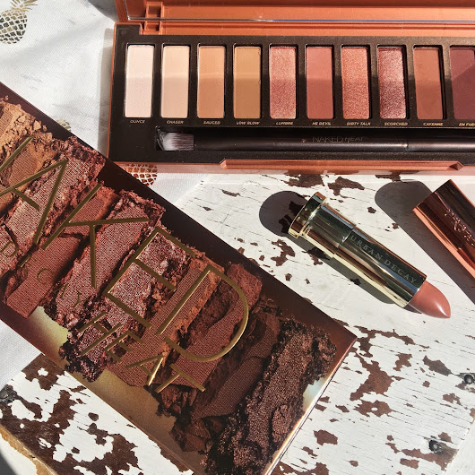 Urban Decay Naked Heat Palette & Fuel Vice Lipstick