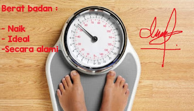 Cara Menaikkan Berat Badan Dengan Cepat Secara Alami.
