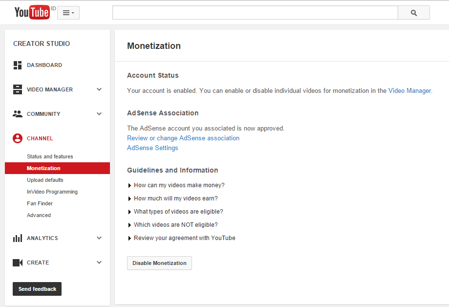 Cara Daftar Adsense Dengan Youtube Cepat Approve Dan Bisa Pasang Di Blog TLD