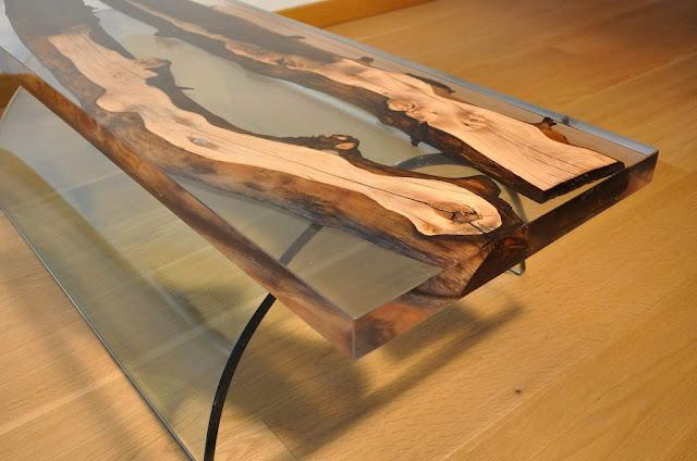 epoxy river table designs, epoxy resin table