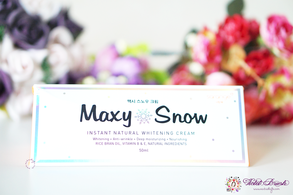 sarange-maxy-snow-natural-whitening-cream-review