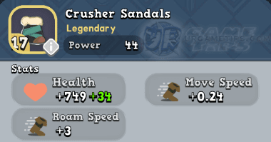World of Legends Crusher Sandals