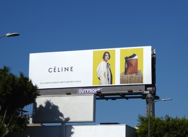 Celine FW16 fashion billboard