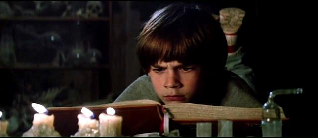 Bastian (Barrett Oliver) dans L'Histoire sans fin de Wolfgang Petersen (1984)