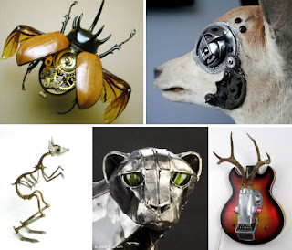 Animales steampunk
