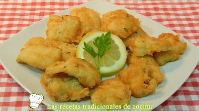 Receta de pescado rebozado crujiente sin huevo