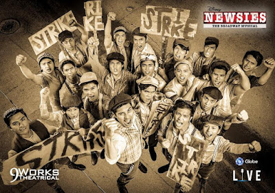Review of 9 Works' NEWSIES: Explosive, Energetic, Entertaining