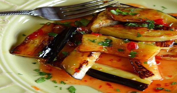 Eggplant With Sweet And Chili Garlic Sauce Recipe