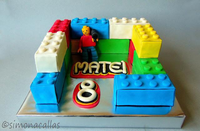 Tort Lego Lego Cake 3