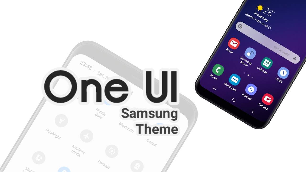 One UI | Samsung Theme Oreo & Nougat - Thobby Blog
