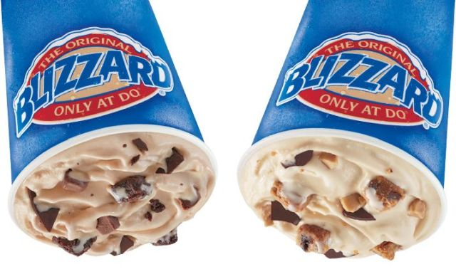 Dairy Queen Releases New Brownie and Blondie Blizzards Brand Eating