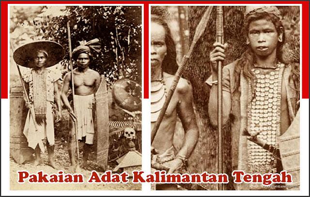 Gambar Pakaian Adat Kalimantan Tengah