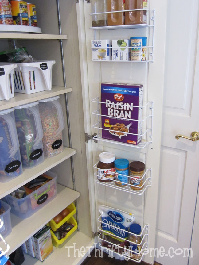 The Thrifty Home Simple Solutions To Organize A Deep Pantry