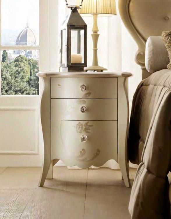 Design interior mobila dormitor de lux Italia - Design Interior | Amenajari interioare - Bucuresti | Mobila Italiana - Noptiera - Viamonte - napoleone - articol - 6054 -1500 -euro