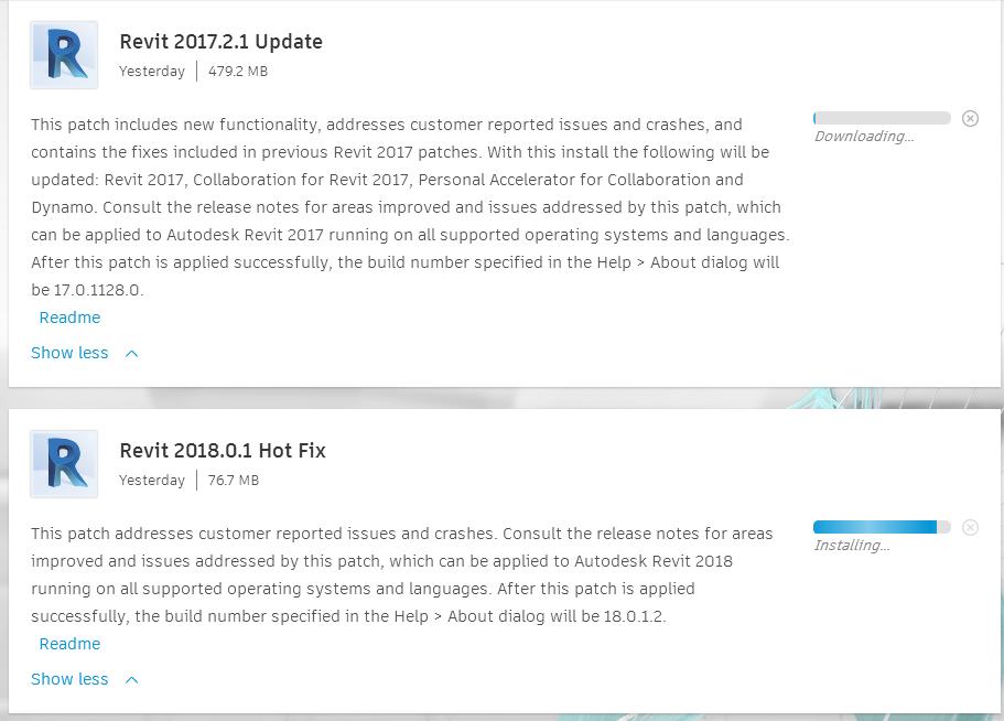 Revit 2018 0 1 Hot Fix and Revit 2017 2 1 Update - Revit news
