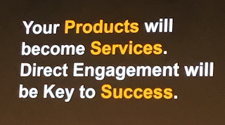 Product to Service - Source SAP Hybris Summit 2017
