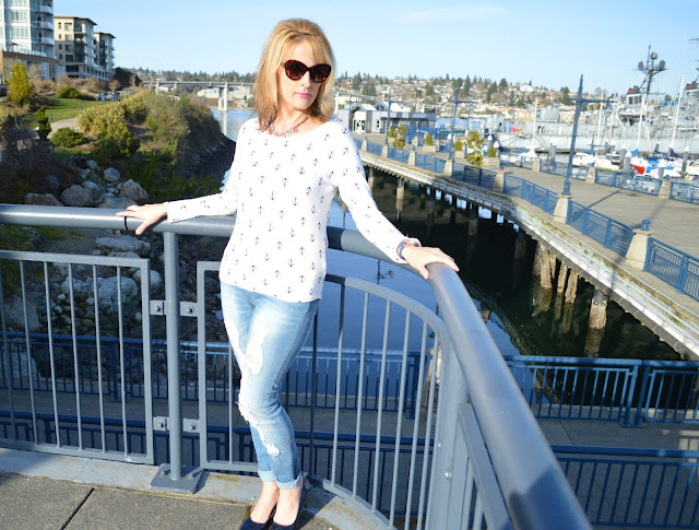 Nautical, Macys, trend, fashion, spring, fashinover40, Bremerton